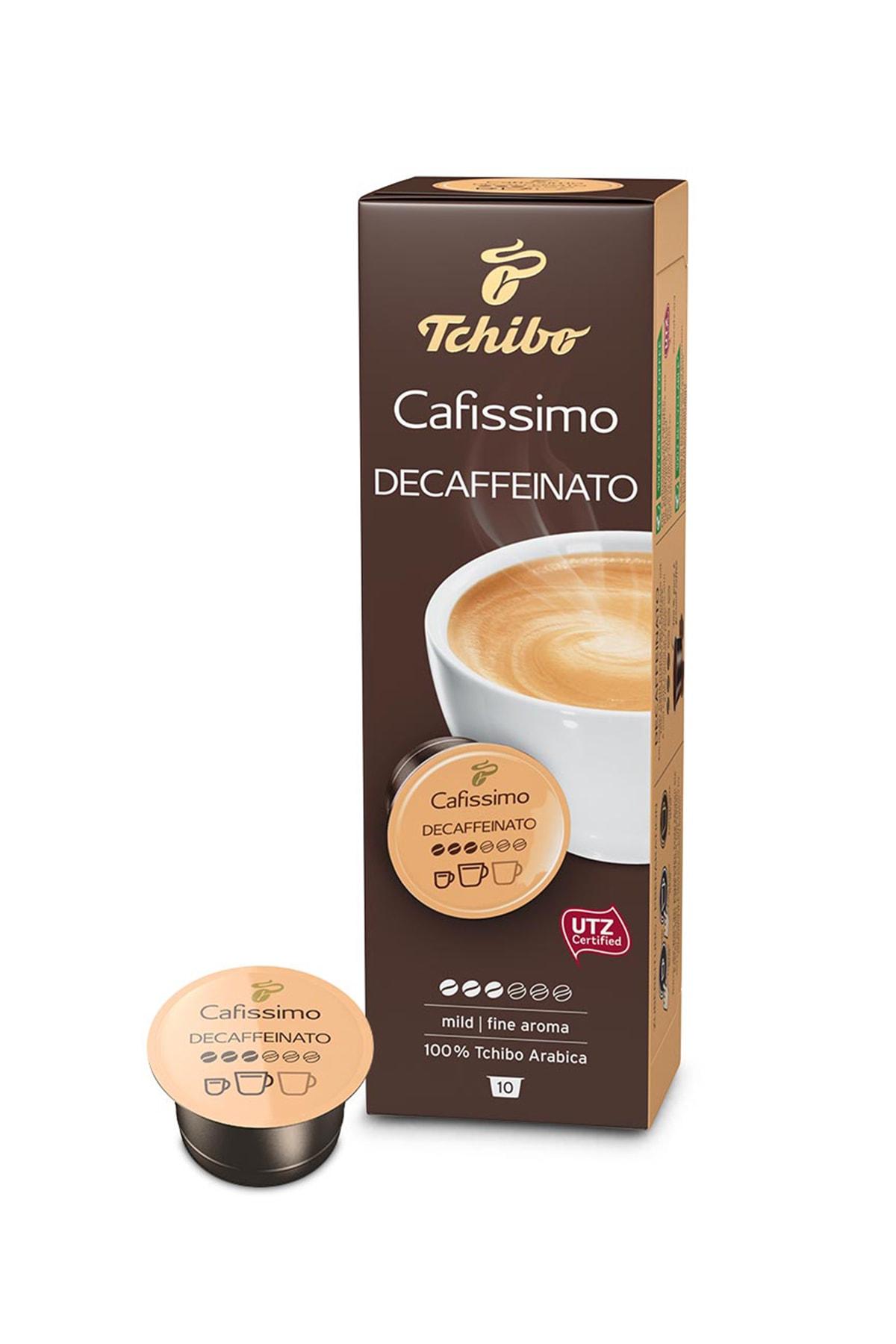 Tchibo Caffè Crema Decaffeinato 10'Lu Kapsül Kahve 71805 0