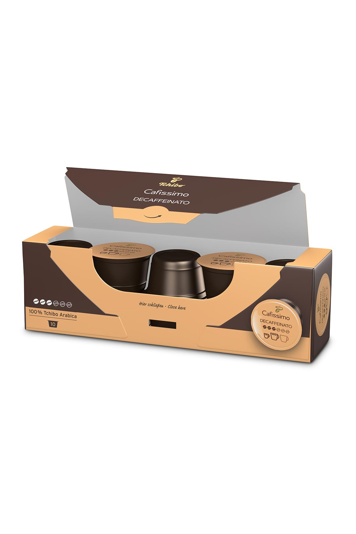 Tchibo Caffè Crema Decaffeinato 10'Lu Kapsül Kahve 71805 3