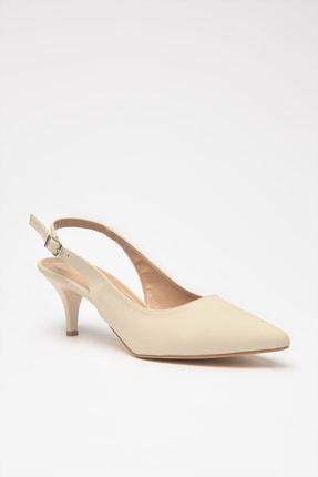 Hotiç Bej Kadın Klasik Topuklu Ayakkabı 01AYH205370A310 2
