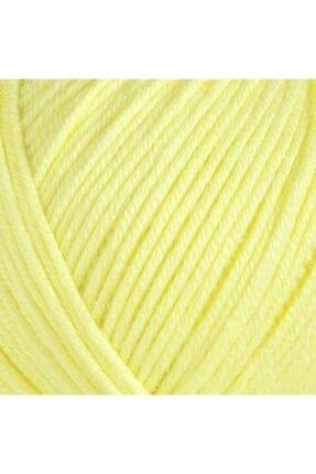 Gazzal Baby Cotton Amigurumi El Örgü Ipi 3413 Sarı 1