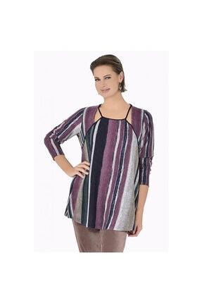 Günay Kadın Bluz Ccasel Sonbahar Kış Yaka Detay Uzun Kol-pembe 1