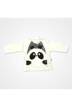 Bebbek Panda Desenli Hastane Çıkış Seti 10'lu - Siyah 1