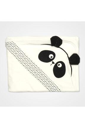 Bebbek Panda Desenli Hastane Çıkış Seti 10'lu - Siyah 3