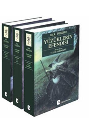 Metis Yayıncılık Yüzüklerin Efendisi 3 Cilt Takım Yüzük Kardeşliği İki Kule Kralın Dönüşü 0