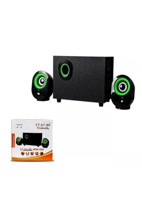 Platoon Pl-4237 Bluetooth Speaker Hoparlör Fm/sd/usb 2+1 Ses Sistemi 1