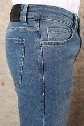 Collezione Collezıone Steve Taşlamalı Slim Fit Mavi Kot Pantolon 3