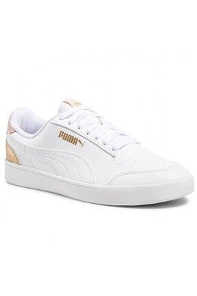 Puma SHUFFLE Beyaz Kadın Sneaker Ayakkabı 101085434 0
