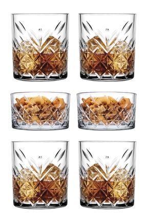 Paşabahçe 6 Parça Tımeless Viski Keyfi Seti - 4 Viski Bardağı + 2 Çerezlik Kase 0