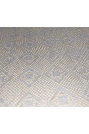 Apree Home Granit Gri 2'li 60x100 - 50x60 Dijital Baskılı, Kaydırmaz, Banyo Paspası Seti 1