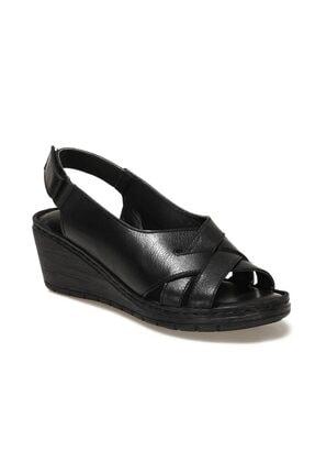 Polaris 161821.Z1FX Siyah Kadın Sandalet 101019761 0