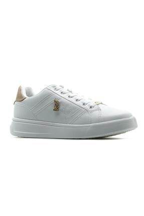 US Polo Assn Kadın Sneaker Spor Ayakkabı (36-40) 21y Exxy Z 3