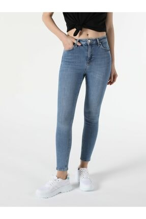 Colin's Kadın  Super Slim Fit Yüksek Bel 76 Diana Jean Pantolon 2