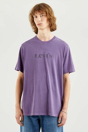 Levi's Erkek Ss Relaxed Fıt Tee Ssnl Mv Logo Garment T-Shirt 16143-0104 1