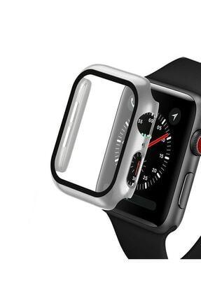 TahTicMer Apple Watch 44mm Tpu Çerçeveli Ekran Koruyuculu Ön Çerçeve Kılıf 0