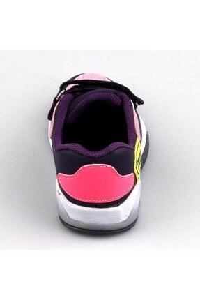 Dolphin Kız Çocuk Mor Işıklı Günlük Spor Ayakkabı 0