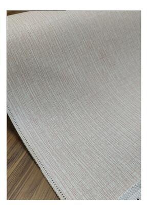 EVİMOD Grey Moderno Yıkanabilir Kaymaz Taban Dekoratif Halı Kilim 30701 2