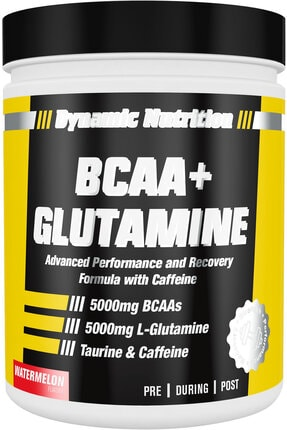 Dynamic Nutrition Dynamic Bcaa + Glutamine 300 Gr (karpuz Aromalı) 0