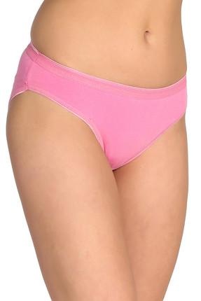 Tutku Kadın Pembe 12'li Paket  Bikini Külot ELF568T0635CCM12 1