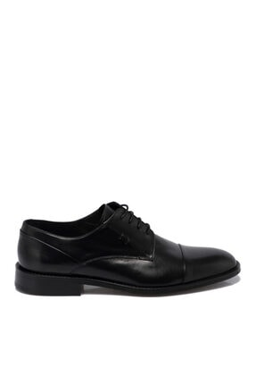 Tergan Erkek Siyah Deri Ayakkabı 55311a43 2