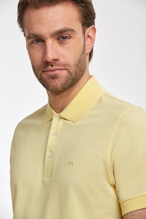 Hemington Erkek Sarı Polo Yaka T-Shirt 0