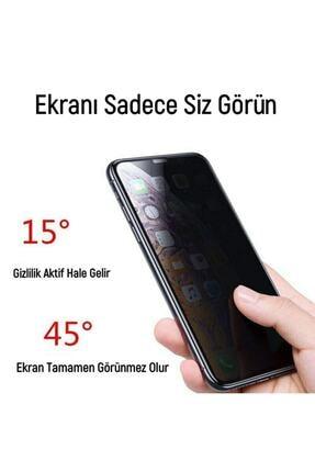 Telefon Aksesuarları Iphone Xs Max Gizli Hayalet 5d Tam Kaplayan Kırılmaz Cam ( Siyah ) 4