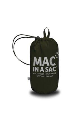 MAC IN A SAC Siyah Yağmurluk 1