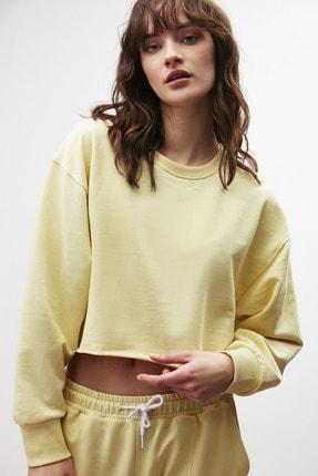 GRIMELANGE CLEMENTINE Kadın Sarı Renk Yuvarlak Yaka Eşofman Takımı 4