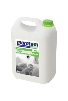 Maratem M107 Köpük Sıvı El Yıkama Ürünü 5 L 0
