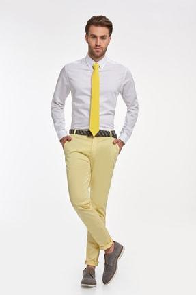 Hemington Çizgili Beyaz Ince Business Gömlek 1