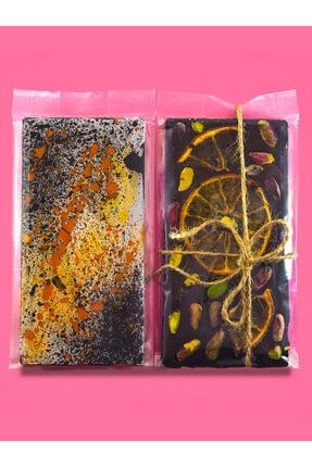 CLM CONCEPT Kurutulmuş Portakallı Antep Fıstıklı Tablet Çikolata 0