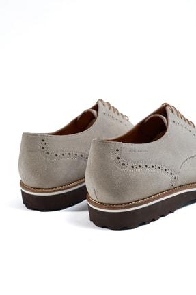Hemington Erkek  El Yapımı Bej Yazlık Süet Deri Ayakkabı 3