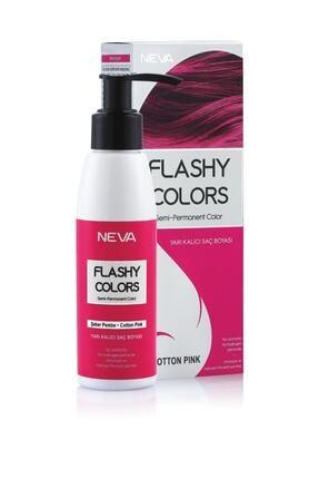 Flashy Colors Yarı Kalıcı Saç Boyası - Şeker Pembe 100 ml 0