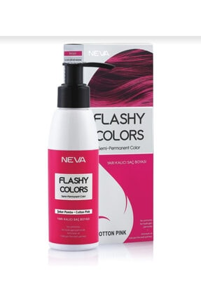 Flashy Colors Yarı Kalıcı Saç Boyası - Şeker Pembe 100 ml 1