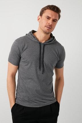 Buratti % 100 Pamuklu Kapüşonlu Slim Fit T Shirt 5412021 0