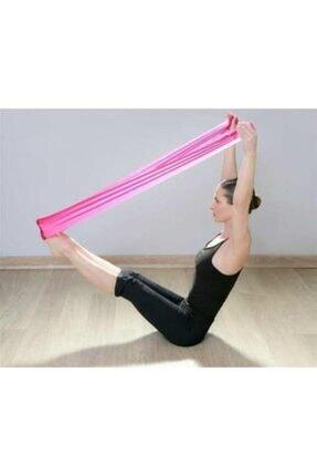 TechnoSmart Pilates Bandı Plates Egzersiz Direnç Lastiği 1 Adet 0