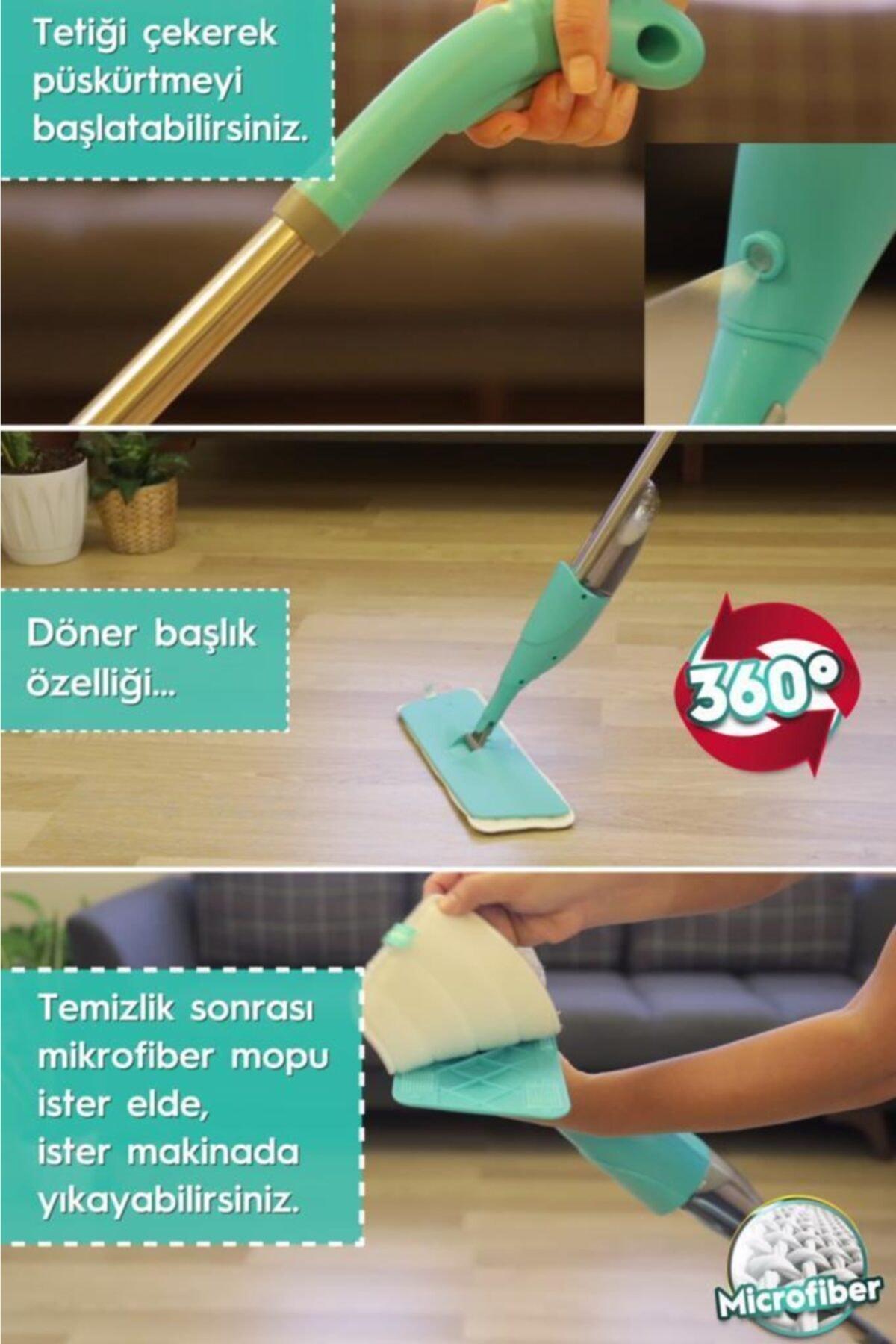 SMARTER Shiny Sprey Mop Set