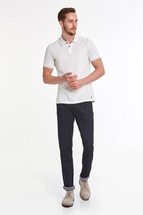 Hemington Vintage Görünümlü Beyaz Polo Yaka T-shirt 1