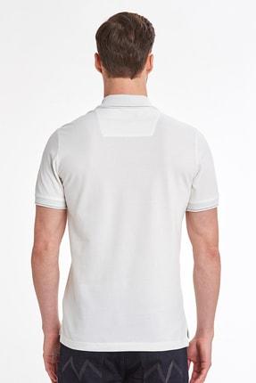 Hemington Vintage Görünümlü Beyaz Polo Yaka T-shirt 2