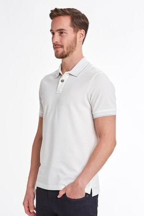 Hemington Vintage Görünümlü Beyaz Polo Yaka T-shirt 4