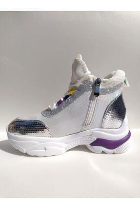 Guja Kadın Gümüş Spor Ayakkabı 1