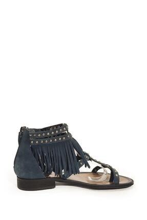 Nursace Kadın  Hakiki Deri Sandalet Nsc16y-a08237 1