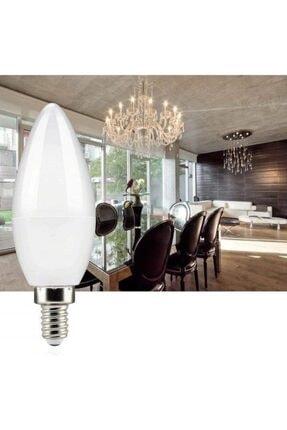 PROICH 7 Watt E14 Ince Duy Beyaz Işık Buji Led Ampul Tasarruflu 10 Lu Paket 1