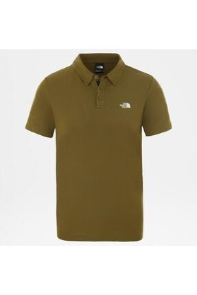 The North Face Tanken Polo Erkek T-shirt Yeşil 0