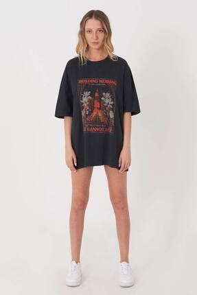 Addax Baskılı T-shirt P9528 - R13 3