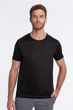 Hemington Siyah Bisiklet Yaka Basic T-shirt 0