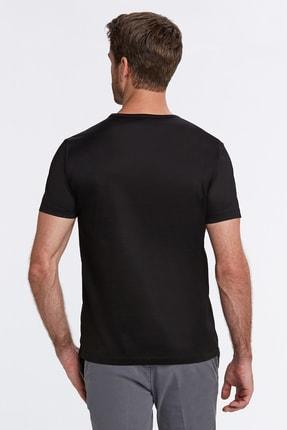 Hemington Siyah Bisiklet Yaka Basic T-shirt 2