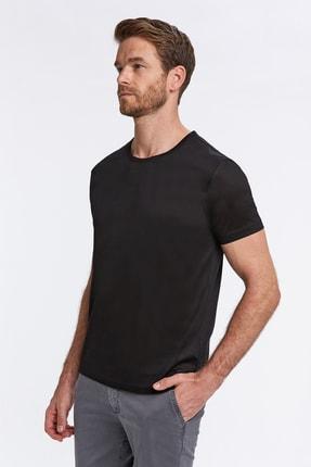 Hemington Siyah Bisiklet Yaka Basic T-shirt 3