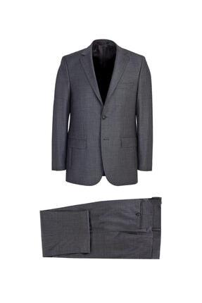 Picture of Klasik Ekose Yünlü Takım Elbise