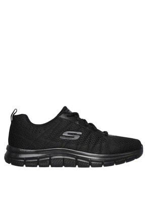Skechers Erkek Siyah Spor Ayakkabı 0
