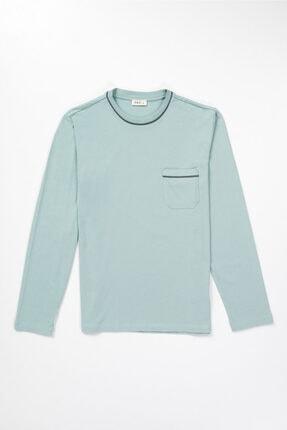 Dagi Erkek Mint Yeşili Pamuk Cepli Pijama Takımı 2